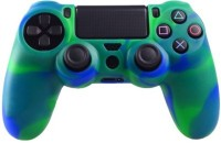 microware Dual Shock Controller Sleeve Skin Cover  Gaming Accessory Kit(Blue)