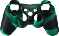 microware DualShock 3 Silicone Sleeve  Gaming Accessory Kit(Green & Black, For PS3)