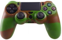 microware Dual Shock Controller Sleeve Skin Cover  Gaming Accessory Kit(Green)