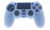 microware Dual Shock Controller Sleeve Skin Cover  Gaming Accessory Kit(White)