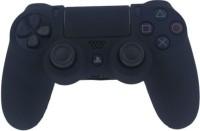 microware Dual Shock Sleeve Skin Cover  Gaming Accessory Kit(Black)