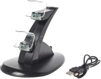 Sameo Controller Charging Station  Gaming Accessory Kit(Black, For PS4)