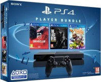 Sony PlayStation 4 (PS4) 500 GB with Player Bundle (Drive Club, The Last of Us, Little Big Planet 3)