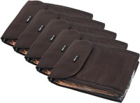 BagsRus Saree Covers SA101FBRX5 - Pack of 5(Brown)