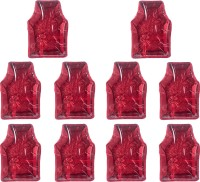 Annapurna Sales Designer 4 Inch Height Front Transparent large Blouse Cover - Set of 10 Pcs. Maroon00359(Maroon)