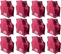 Annapurna Sales Designer 4 Inch Height Side Transparent large Blouse Cover - Set of 12 Pcs. Maroon00299(Maroon)