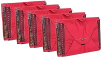 BagsRus Saree Covers PK101FRDX5 - Pack of 5(Red)
