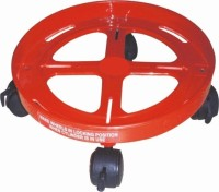 Fencer Gas Cylinder Trolley(Red, Pack of 1)