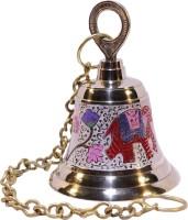 Frestol Brass Pooja Bell(Gold, Pack of 1)