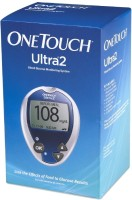 Johnson & Johnson One touch Ultra 2 Glucose Monitor with 35 Strips Glucometer(Blue)