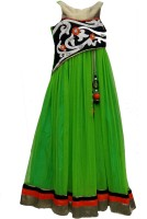 Pogo Flared Gown(Green)