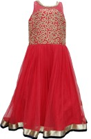 Pogo Flared Gown(Red)