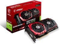 msi NVIDIA GEOFORCE GTX 1070 8 GB DDR5 8 GB GDDR5 Graphics Card(RED AND BLACK)