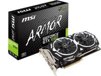 MSI NVIDIA Geforce GTX 1060 ARMOR 6G OCV1 6 GB GDDR5 Graphics Card(Black)