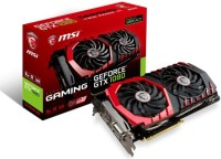 MSI NVIDIA GTX 1080 GAMING 8G 8 GB GDDR5X Graphics Card(Black, Red)