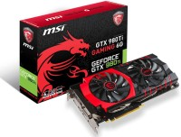 MSI NVIDIA Geforce GTX 980Ti Gaming 6g 6 GB GDDR5 Graphics Card(Black, Red)