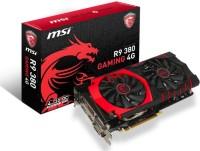 MSI AMD/ATI R9 380 GAMING 4G 4 GB GDDR5 Graphics Card(Black)