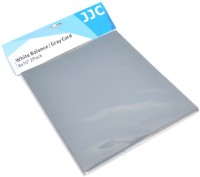 JJC 2 in 1 White Balance GC-1 20 x 25 cm Grey Card(Pack of 2)