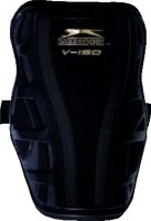 Slazenger V150 Football Shin Guard(L, Black)