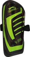 Slazenger V200 Football Shin Guard(S, Black, Green)