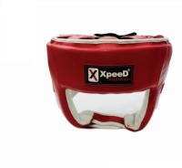 Xpeed Boxing Contest Boxing Head Guard(L, Red, White)