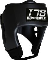 Invincible Amateur Training Headgear Boxing Head Guard(Black)