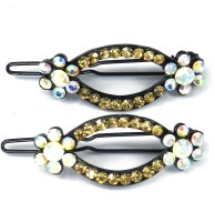 SPM Pair Of Elegant New Hairclips69 Hair Clip(Multicolor) - Price 200 83 % Off