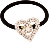 Young & Forever Flirty Heart Hair Band(Gold, Black) - Price 445 77 % Off