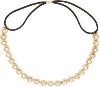 Arise ARISE ELASTIC HAIR BAND Head Band(Gold) - Price 140 76 % Off