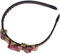 Viva Fashions Roses and Ribbons Hair Band(Multicolor)