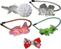 Twinkle Casual Hair band Hair Accessory Set(Multicolor) - Price 630 79 % Off