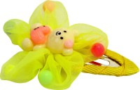 Jewelz Lemon-Yellow Teddy Hair Tic Tac Clip(Multicolor) - Price 127 40 % Off