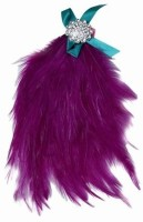 Pinkblueindia Buy Soft Fur Baby With Bow Head Band(Purple)