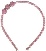 Viva Fashions Pearl Hair Band(Pink)
