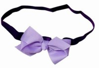Pinkblueindia Stylish Baby Girl With Bow Head Band(Purple)