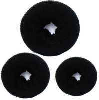 Majik Donuts for Women Hair Bun(Black)