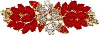 Mansiyaorange party wear fancy accessories Hair Clip(Red) - Price 299 76 % Off