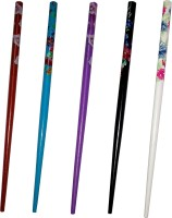 CraftEra Wooden Stick Hair Pin(Multicolor)