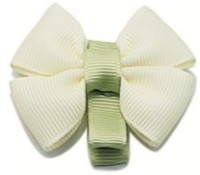 NeedyBee Butterfly Bow Hair Clip(Green)