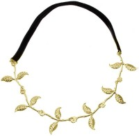 Young & Forever Victoria Beckham Inspired Leaves Head Band(Gold, Black) - Price 500 83 % Off