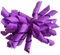 NeedyBee Korker Bow Hair Clip(Purple)