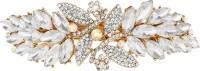 Mansiyaorange party wear fancy accessories Hair Clip(White) - Price 299 76 % Off