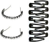 Your Style st1040 Hair Band, Hair Clip(Black) - Price 178 82 % Off