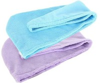 """Nanjing Yinglite Commercial & Trading Co., Ltd Yinglite Microfiber 2PCS Hair Drying Towel Bath Head Wrap Turban Violet&blue Size: 9.8"""" X 25.2"""" Quick Dry Hat Cap NEW (2 Pack) Head Band(Blue) - Price 399 80 % Off"""