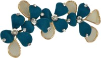 Sagunya Floral Brooch Hair Pin(Blue)