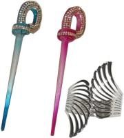 Yashasvi Juda Stick with Bracelet Hair Accessory Set(Multicolor)