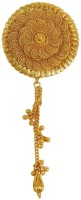 Muchmore Exclusive 18k Gold Plated Choker Circle Style Single Head Hair Pin For Women & Girls Jewelry Hair Pin(Gold)