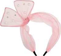 ILU White Pearl Fabric Plastic Hair Band Women Girls Wedding Party Beauty Hair Care Styling Jewellery Hair Accessories Pink Hair Band, Head Band, Hair Clip(Pink) - Price 250 83 % Off