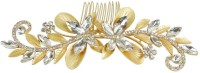 Muchmore Gorgeous Funky Design Work 18k Gold Plated Hair Clip For Kids & Girls Accessories Hair Clip(White)