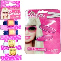 Mamaboo Barbie Hair Accessory Set, Hair Band, Tic Tac Clip(Pink) - Price 59 50 % Off